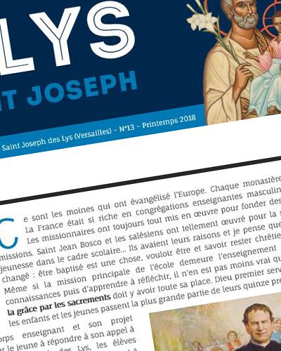 Le Lys de Saint Joseph, n°15