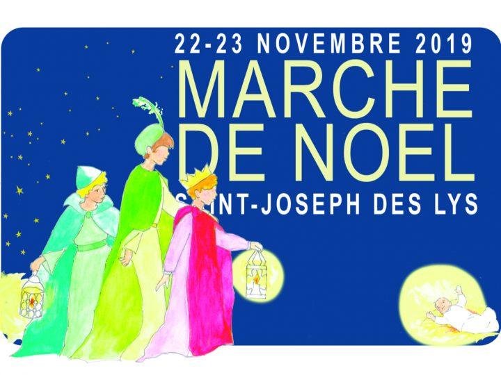 A vos agendas : Prochain Marché de Noël de Saint Joseph des Lys