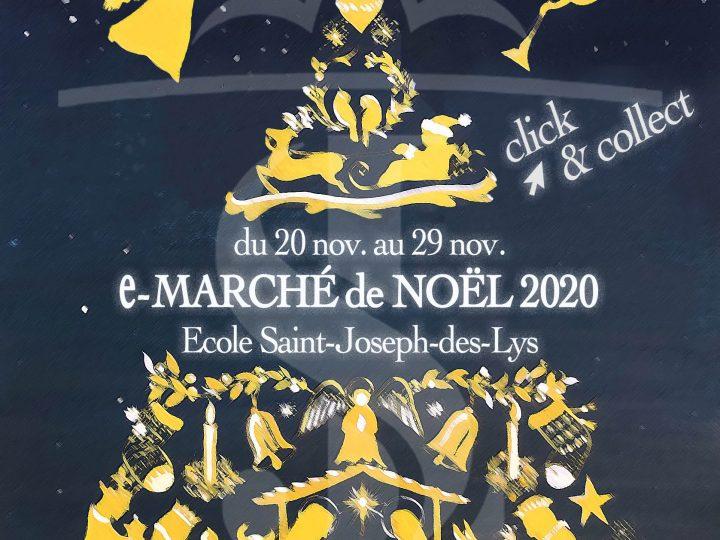 Marché de Noël 2020 : ouverture de notre Marché en ligne le 20 novembre