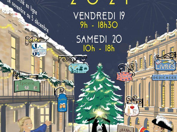 Marché de Noël de Saint Joseph des Lys les vendredi 19 et samedi 20 novembre 2021